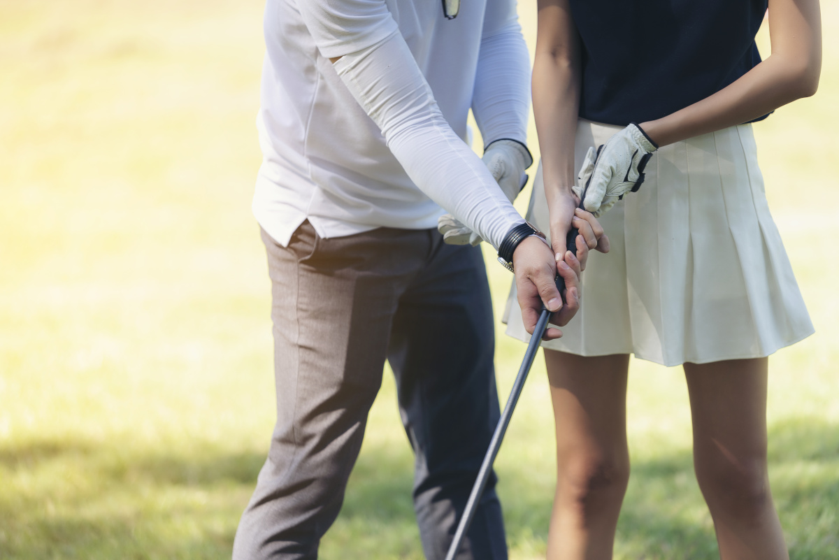 five reasons to take a golf lesson